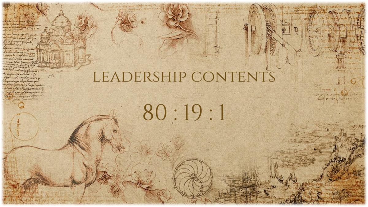 【QR限定】Leadership-Contents(80:19:1の法則)